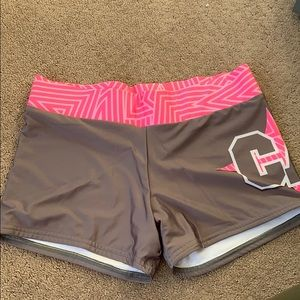 Varsity California Allstars practice shorts